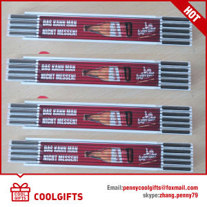 72′′ 12 Fold Copper Wooden Folding Ruler for Promotion Gift pictures & photos