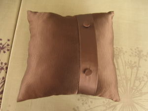 Stripe Chocolate Button DEC Pillow pictures & photos