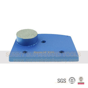Lavina Diamond Metal Bond Floor Grinding Shoe Pad Plate Tools for Concrete pictures & photos