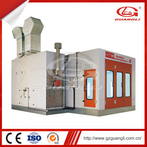 25kw Power Steel Frame Air System Spray Booth (GL4000-A2) pictures & photos