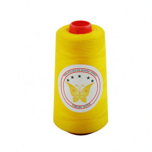High-Strengthed 100% Polyester Sewing Thread pictures & photos