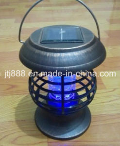 Outdoor and Indoor Garden Solar Power Mosquito Killer Trap Lamp pictures & photos