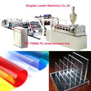 Automatic Pet PMMA PC Sheet Extrusion Machine pictures & photos