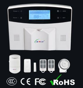 LED GSM/PSTN Dual Network Intelligent Alarm System pictures & photos