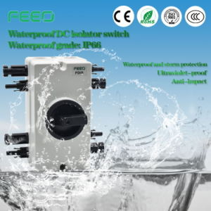 New Technology DC Weatherproof Electrical Isolator Rating pictures & photos
