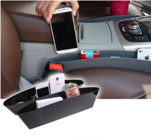 2PCS Auto Catch Catcher Storage Organizer Box Caddy Car Seat Slit Pocket (Bag22-1) pictures & photos