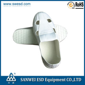 Antistatic 4 Holes Cleannroom Shoes (3W-9103) pictures & photos