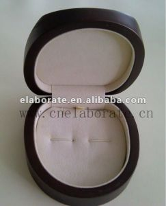 Wooden Cufflink Box pictures & photos