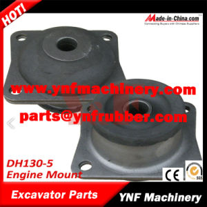 Excavator Parts Daewoo Doosan Dh130-5 Rubber Engine Mount pictures & photos
