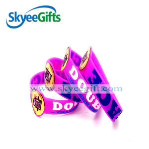 Colorful Silicone Bracelet with Special Customer′s Repuest pictures & photos