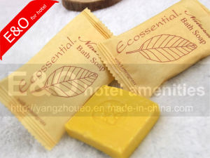 Hotel Amenities Natural Bath Face Hand Soap with Flow Wrap pictures & photos