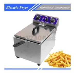 Light Duty Electric Countertop Fryer Dzl-101b pictures & photos
