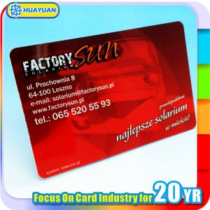 13.56MHz MIFARE DESFire 8K RFID smart Card for Payment pictures & photos