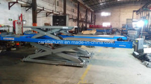 Car Lift Portable with Second Lifting 5000kg (SHL-Y-J-55D) pictures & photos