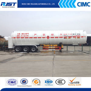 3 Axles Cryogenic Liquid Tank/LNG Tank (WL9400GDY) pictures & photos