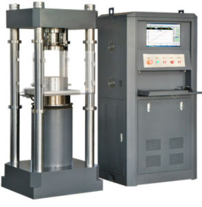 YAW-2000 Compression Testing Machine with PC&Servo Control pictures & photos