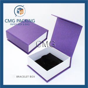 Recycled Luxury Velvet Insert Jewelry Packing Box (CMG-PJB-040) pictures & photos