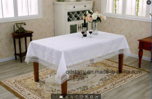 Cheap Lace Tablecloth 2016 New Design pictures & photos