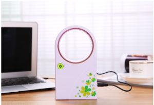 Portable No Blades Handheld Desktop Mini USB Fan pictures & photos