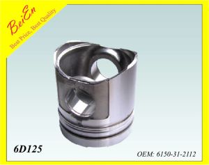 Good Quality Piston for Excavator Engine 6D125 (Part number: 6150-31-2112) pictures & photos
