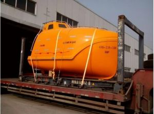 Marine Totally Enclosed Rescue Lifeboat with Davit pictures & photos