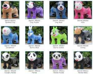 Plush Walking Animal Kiddie Rides (28 Models) pictures & photos