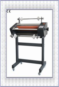 Professional Manufacturer 360mm (FM-380) Roll Laminator with Foot Stool pictures & photos
