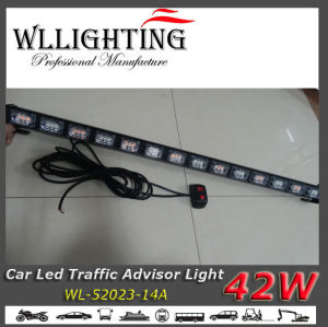 Amber Auto LED Traffic Warning Light Bar pictures & photos
