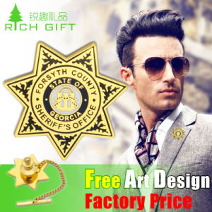 Factory Price Customized Button Lapel Pin Badge for Promotional Item pictures & photos