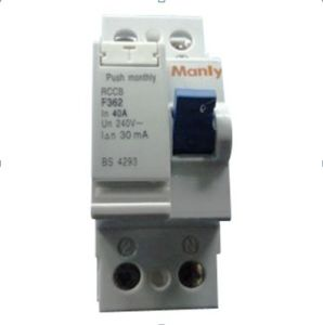 F360-2p Residual Current Circuit Breaker pictures & photos