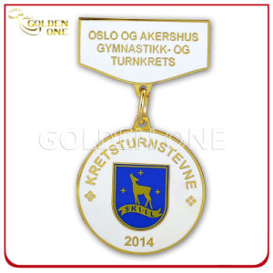 Factory Supply 3D Embossed Soft Enamel Custom Medal pictures & photos