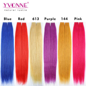 New Arrival Top Grade PU Skin Weft Hair Extensions pictures & photos