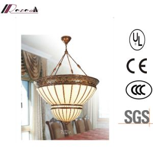 Hotel Project Antique Hanging Resin Pendant Light pictures & photos