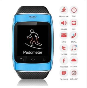 S12 Topsale Bluetooth Smart Wristband Watch Phone with Pedometer/Recording pictures & photos