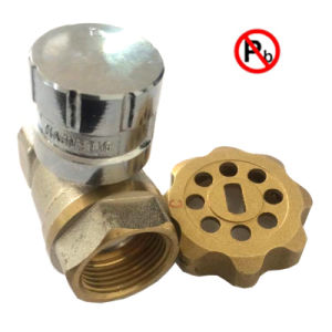 Low Lead Brass Magnetic Lockable Valve with Key pictures & photos