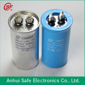 Cbb65 Air Conditioner Capacitors with Oval Shape pictures & photos