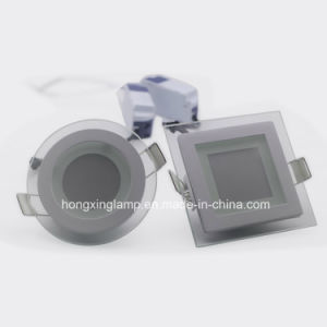 LED Panel 9.8*9.8 7W Square /Round IC Ra>70 Panel Lamp pictures & photos