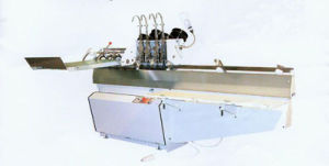 Semi-Automatic Book Saddle Stitching Machine (with Chinese/USA/Germany heads) pictures & photos