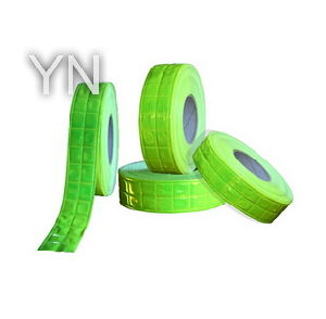 Green Reflective Krystal Lattice Warning Tape pictures & photos