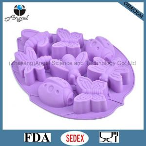 Insects Silicone Chocolate Mold Ice Cube Tray Cake Tool Sc32