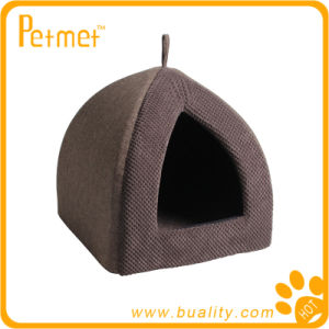 Luxury Pyramid Cat Bed with Removable Cushion (PT59250)