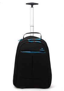 Chubont Hot Sell 2 Wheels Trolley Backpack with Laptop Seelve pictures & photos