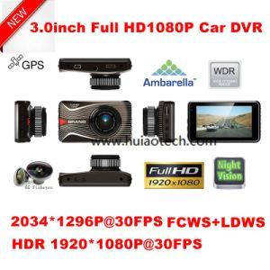 "Hot & Cheap 3.0"" Full HD1080p Car Camera with 4G Lens; 1 IR LED; 2.0mega Ov 2720 CMOS DVR-3003 pictures & photos"