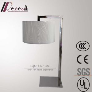 European Hotel Decorative Chrome Bedside Table Lamp with Acrylic Diffuser pictures & photos