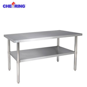 Commercial Stainless Steel Workbench pictures & photos