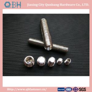 Hex Socket Set Screw with Flat Point DIN913 S. S M1.4-M24 304, 316stainlesss pictures & photos