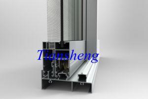 Latest Design Double Glazing Aluminum Sliding Window pictures & photos