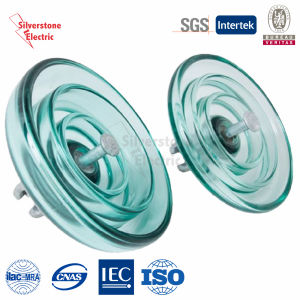 U550 275kn Toughened Suspension Disk Glass Insulator IEC