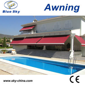 Outdoor Portable Electric Retractable Cassette Awning (B3200) pictures & photos