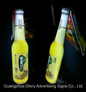 Acrylic Advertising 3D Beer Bottle LED Signs Light Box pictures & photos